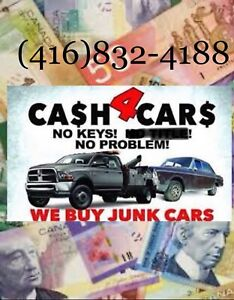 We pay top cash $$$ for your unwanted vehicles ($200/$5000)