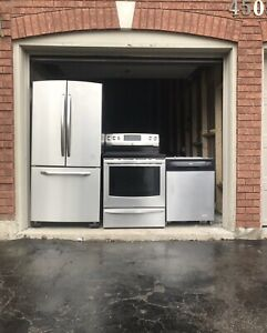 Can deliver Full working Appliance Fridge/Stove/Dishwasher
