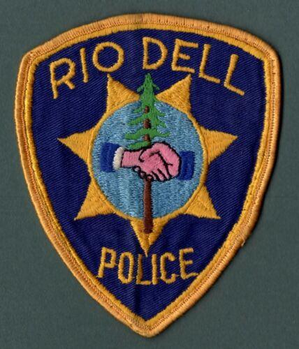 Rio Dell California Police Patch