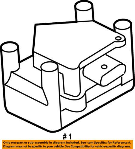 Vw Volkswagen Oem 99 01 Jetta Ignition Coil 032905106f
