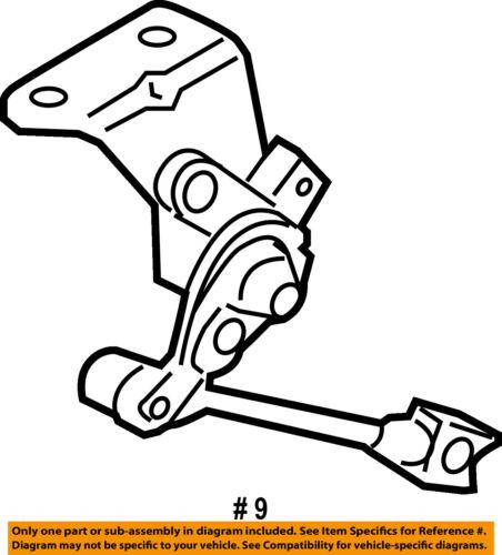 Ford Oem Ride Control Rear Position Sensor 8w1z5359a