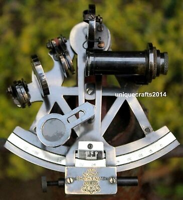 Brass Maritime SEXTANT Nautical Style Solid KELVIN /& HUGHES Antique Brass Ship