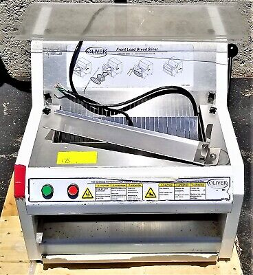 Oliver 732-n Commercial Front Load Bread Slicer 115v 12hp 18