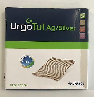 URGOTÜL AG Silver 10x12 cm Wundauflage Wundgaze 1Stück OVP steril