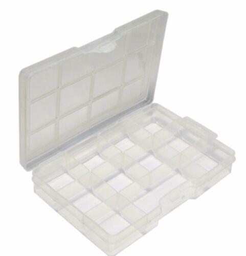 PLASTIC BEAD BOX STORAGE CONTAINER 11 COMPARTMENTS