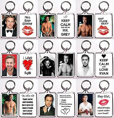 Ryan Gosling Keychain Key Ring - Many Designs To Choose From Shirtless Abs (Ryan Gosling Abs)