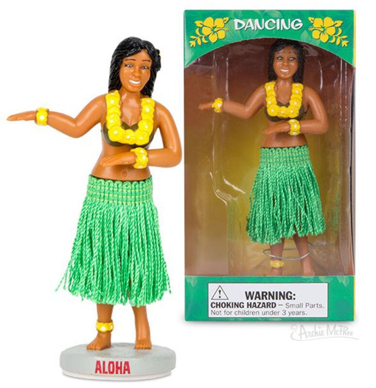 Hawaiian Hawaii Dashboard Hula Doll Dancer Skirt Girl  - Novelty Fun Gag Gifts