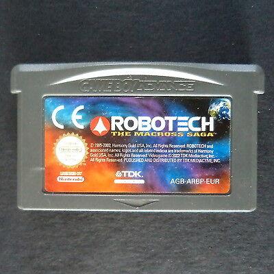 ROBOTECH: THE MACROSS SAGA Game Boy Advance UK・♔・SHOOTER Nintendo GBA cart only segunda mano  Embacar hacia Argentina