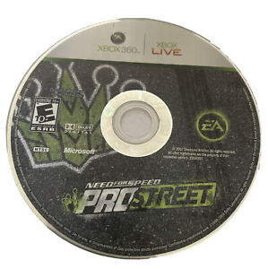 Need for Speed: ProStreet Xbox 360 game disc only 7y Kids Racing Pro Street N4S