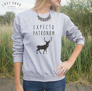 expecto patronum harry potter harry potter sweater top. Black Bedroom Furniture Sets. Home Design Ideas