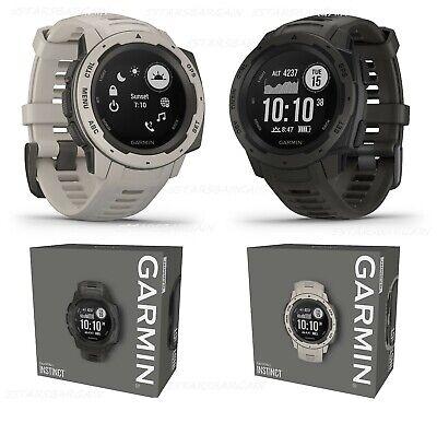 Garmin Instinct Rugged Outdoor Fitness GPS Watch Bluetooth Fiber-reinforced 44mm