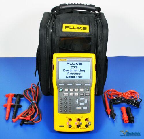 Fluke 753 Documenting Multifunction Process Calibrator NIST Calibrated, Warranty