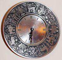Orologio Da Muro D 27 Cm In Peltro Pewter, Made In Germany Con Garanzia -  - ebay.it