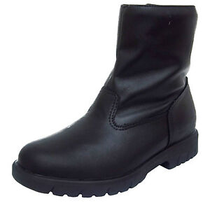 Sport-Walks-by-Toe-Warmers-TRACK-Mens-Black-Leather-WATERPROOF-Ankle-Boots