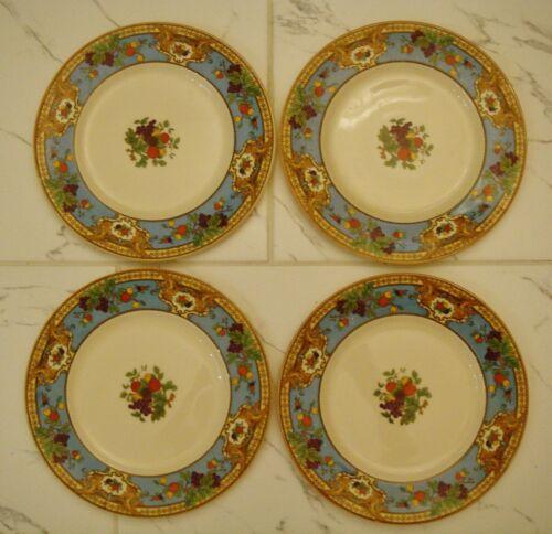 4 Vintage MYOTTS Crown Ivory Dinner Plates England  Beautiful plates 10.5