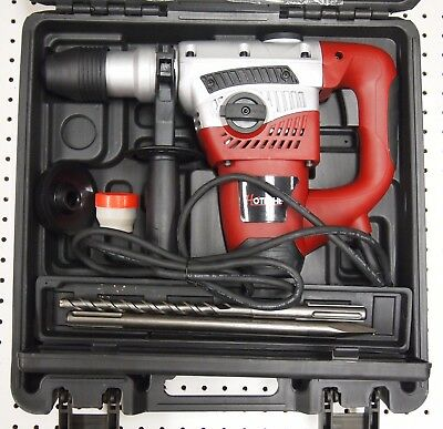 1-916 Sds Max Rotary Hammer Drill 3 Functions