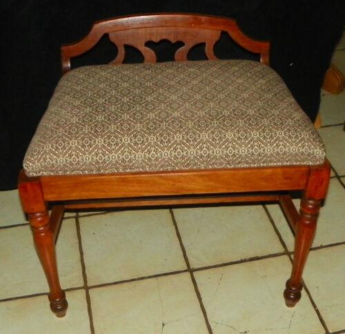Mahogany  Vanity Bench / Vanity Chair  (BN156)