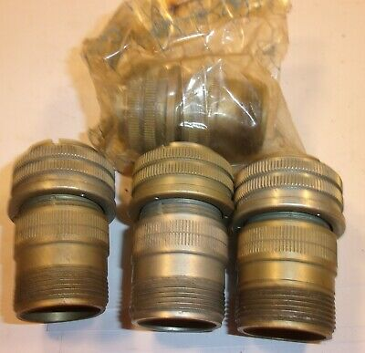 Lot Of 4 Amphenol Circular Connectors Ms3106a 20-7p