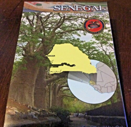 US Army USMC Senegal Cultural Smart Card