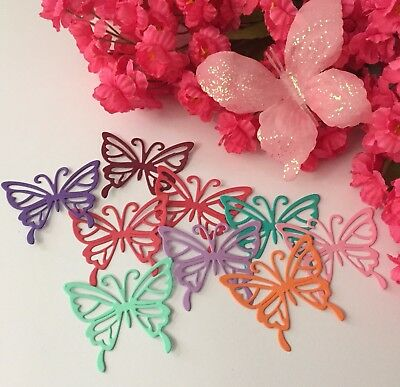 25 BUTTERFLY PAPER CUT - Butterfly Cut Outs