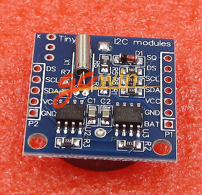 Tiny I2c Rtc Ds1307 At24c32 Real Time Clock Module Without Battery
