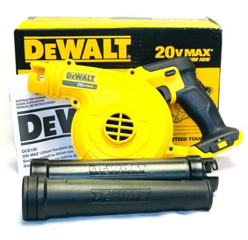 Dewalt DCE100B 20V Cordless Blower 20 Volt MAX Compact Jobsite 100CFM NEW!