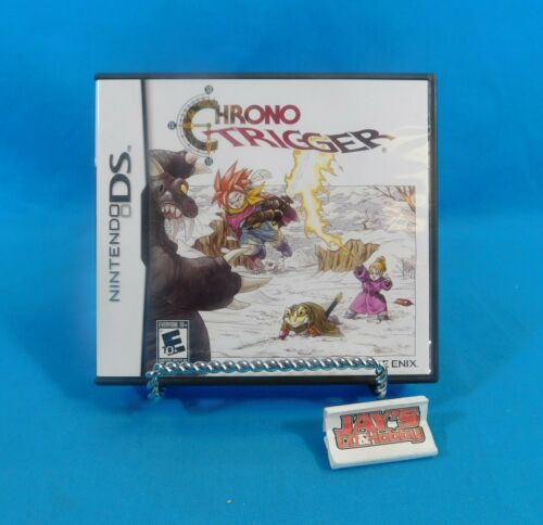 Chrono Trigger Nintendo DS Video Game Case with Manual EMPTY CASE!