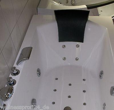 Badewanne Wanne Whirlpool Eckbadewanne Pool Whirlwanne Acryl für 2 Personen