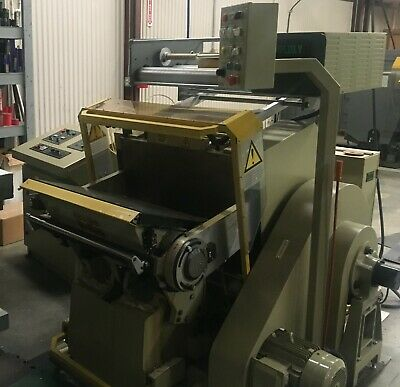 Brausse Pe 40250f Hand Fed Die Cutter Foil Stamping 2007