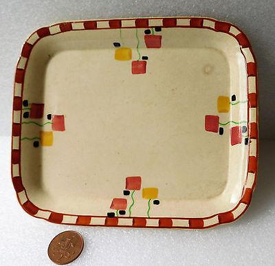 "Antique plate Crescent China George Jones Art Deco Victorian Edwardian tray 8"""