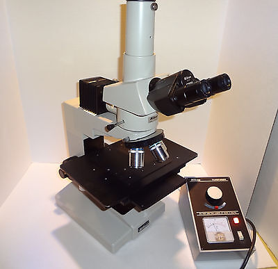Nikon Optiphot Bfdf Reflected Light Metallurgical Research Microscope Nice