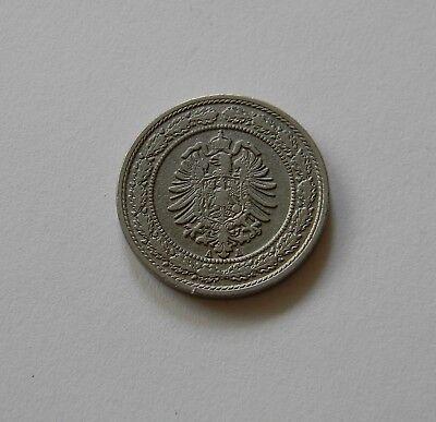 KAISERREICH: 20 Pfennig 1888 A, J. 6, sehr schön+, II.