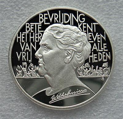 SILVER COIN, PROOF .925, NEDERLAND, 25 ECU, 1995, Wilhelmina