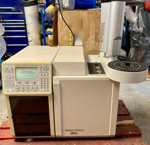 Varian Chrompack Gas Chromatograph CP-3800 w/ CP-8400 AutoSampler CP 3800