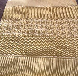 Thick memory foam mattress pad