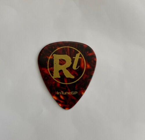 ROB THOMAS - Matt Beck 2005 Tour Issued Guitar Pick Matchbox Twenty 20 Tortoise