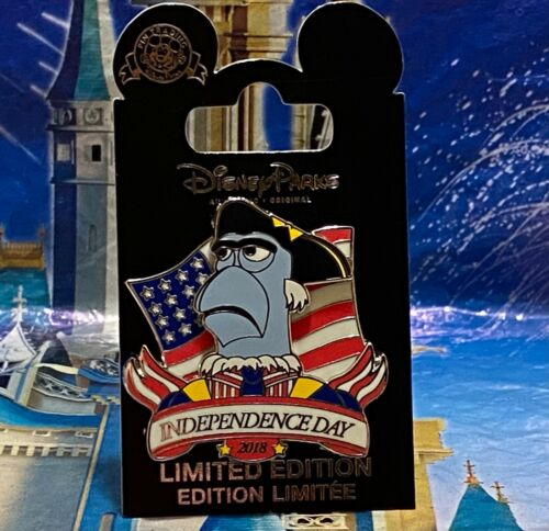 Disney Parks Pin Sam Eagle Muppets Independence Day 2018 Pin Le 5000