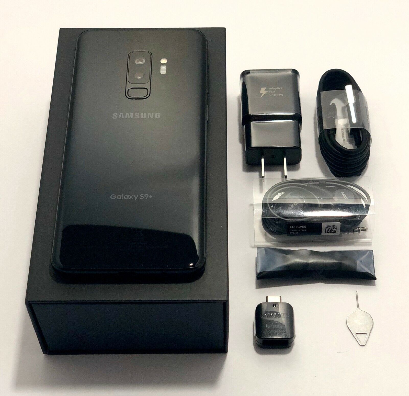 Samsung Galaxy S9+ Plus G965U T-Mobile AT&T Sprint Verizon Carrier Unlocked