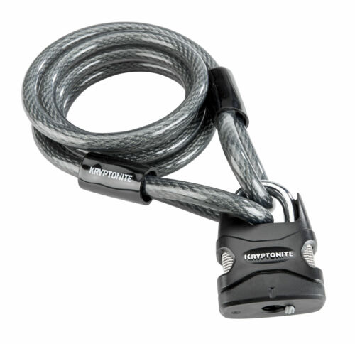 Kryptonite 150 Universal Security Cable and Padlock, 6