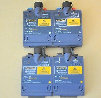 Fluke Dtx-sfm2 Dtx-mfm2 Sm Mm Fiber Dtx-1800 Dtx-1200 Dtx Sfm2 Mfm2 1200 1800