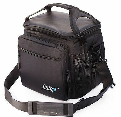 Large Insulated Lunch Bag With Shoulder Strap for Adult Men