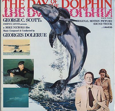 The Day of the Dolphin OST JAPAN LP LINER NOTES Georges Delerue, George C.