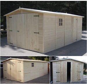 WOODEN GARAGE/ Workshop 10ft x 20ft/ 3x6m 19mm