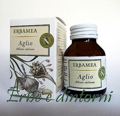 AGLIO Estratto secco 50 capsule da 543 mg  Ipertensione,parassitosi,colesterolo