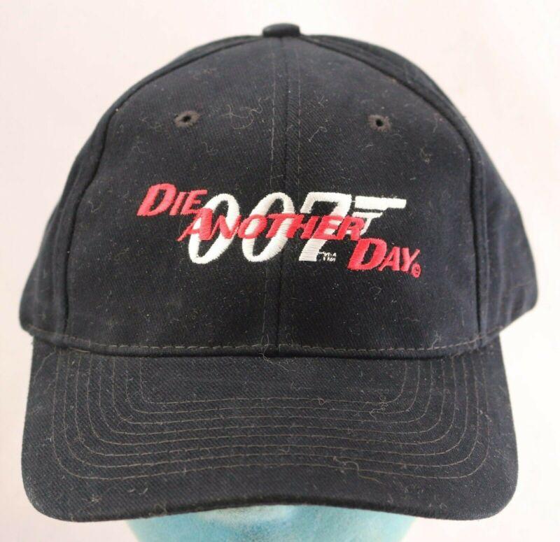 James Bond 007: Die Another Day (2002) Movie Promo Strapback Black Hat