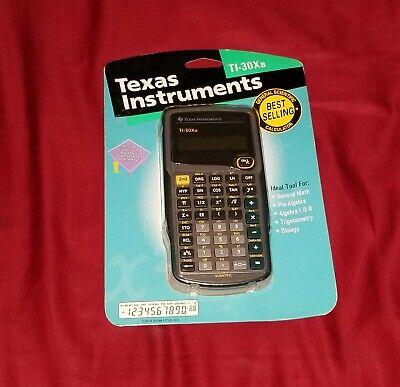 Texas Instruments Scientific Calculator TI-30Xa Sealed
