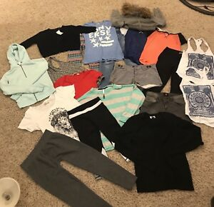 Large clothing lot (20 items). Women's xs/s