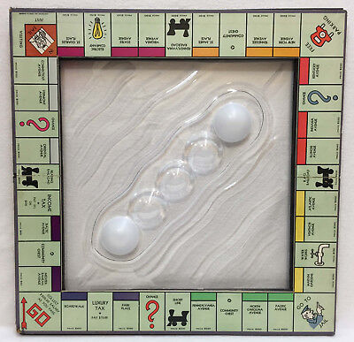 Monopoly Board Wall Art Bubble Lexon 3D Acrylic Insert Original Artist Unique
