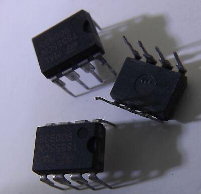 3 Pcs Ts555cn 555 Dip8 St Ic Timer Low Power Cmos New Us Shipping
