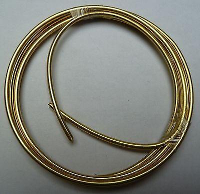 Messingdraht-Ring Stärke 2,00mm / 1m